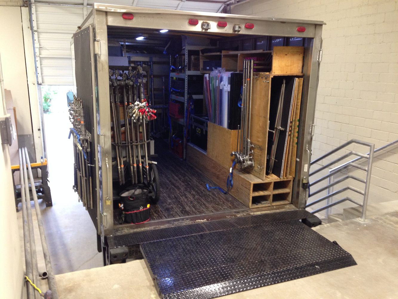 Indoor Loading Dock